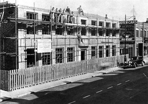 Port Talbot YMCA being built